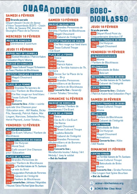 RDVCN 2016 (calendrier)