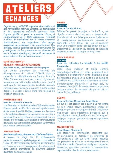 RDVCN 2016 (ateliers)